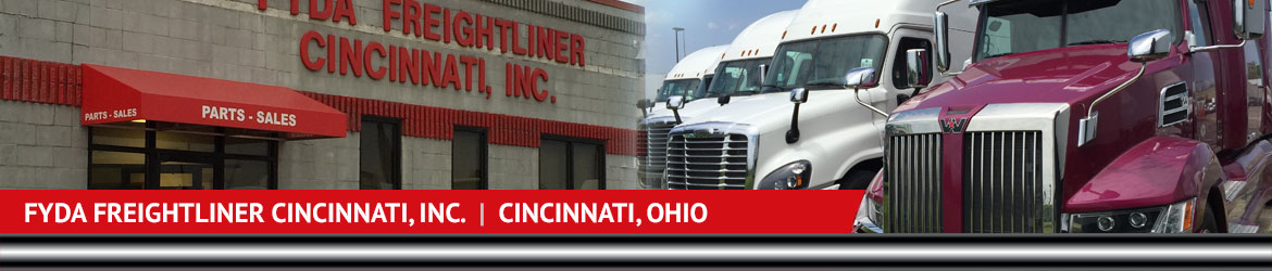 Fyda Freightliner Cincinnati Inc Map Hours